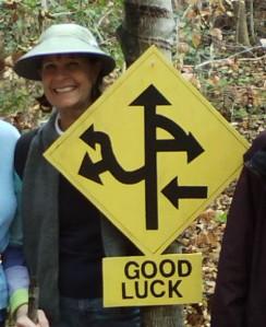 Crazy Trail Marker